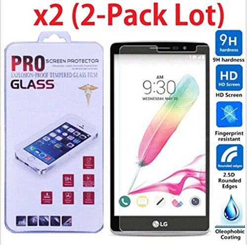 Price comparison product image 2 Pack / Premium HD Tempered Glass Screen Film Protector For Samsung Galaxy C7 C7000