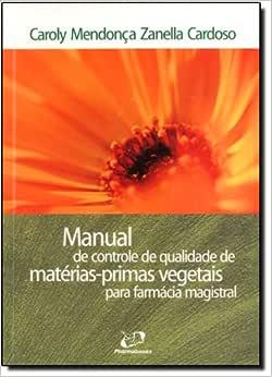 Manual de Controle de Qualidade de Matérias-Primas