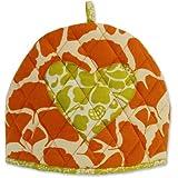 Fair Trade 100% Cotton Tea Cozy By Zen Zen (Orange Gingko)