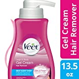 Veet Fast Acting Gel Cream Hair Remover Pump (Sensitive), 13.50 Ounce