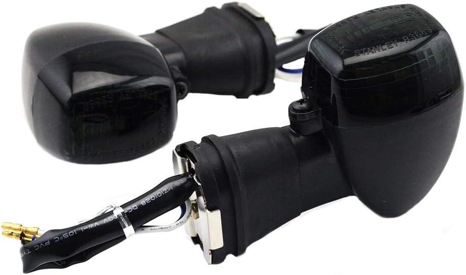 GUAIMI Motorcycle Turn Signal blinker Indicator Lights for Kawasaki Ninja 250R 500 500R EX500 GPZ500S ZZR600 ZXR250 400 750 KLE250 400 500 ZR-7S ZRX1200S-Clear
