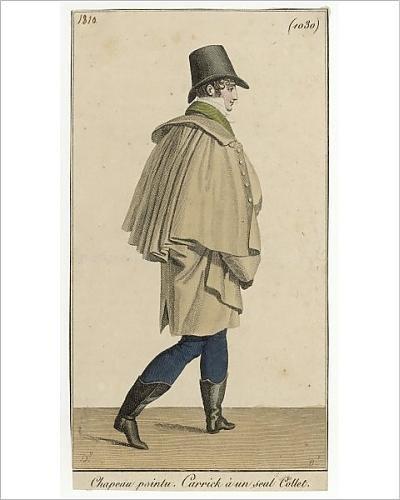 Stampa fotografica di Carrick cappotto 1810: Amazon.it: Casa