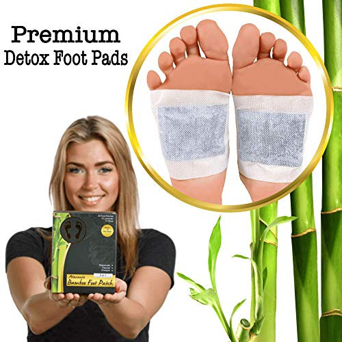 Foot Patch | Aroma Foot Pads | Bamboo Vinegar Foot Patch | Premium Organic Foot Patches | Sleep Better | Body Relief Foot Pads | Remove Impurities | Relieve Stress | Sleep Aid Patch