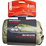 S.O.L. Survive Outdoors Longer 70 Percent Heat Reflective Escape Bivvy, OD Green