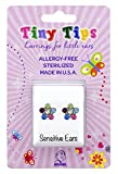 STUDEX Tiny Tips Stainless Steel Daisy Rainbow Stud