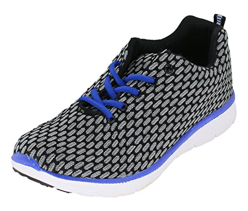 brandsseller Men's Trainers Grey/Black mlqdu