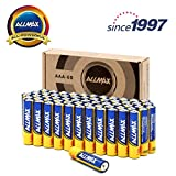 ALLMAX All-Powerful Alkaline Batteries - AAA 60-Pack (Premium Grade) - Ultra Long-Lasting and Leak-Proof, Built with EnergyCircle Technology