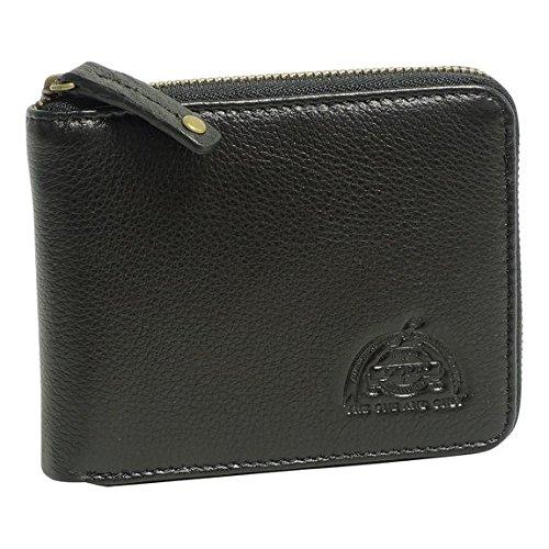 Dopp Men's Soho Rfid Blocking Leather Zip-around Wallet, black, One Size (Leather Soho Black)