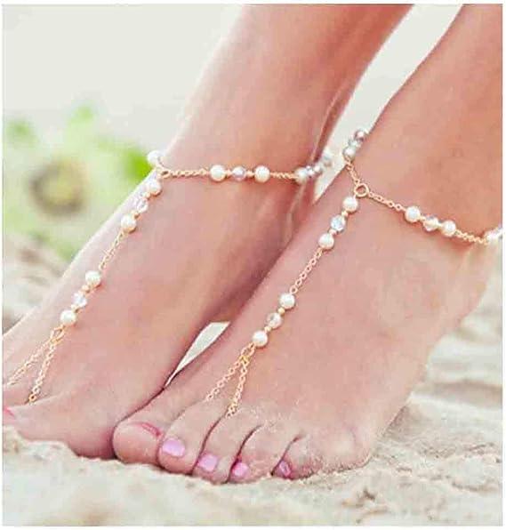 1 Pc Women Fine Fashion Chain Ankle Bracelet Anklet Foot Jewelry Beach JewelryZT