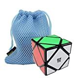 GoodPlay MoYu Skewb Speed Cube Puzzle Black(+One Customized Bag)