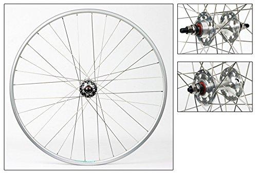 Wheel Master Weinmann LP18 Wheel Set – 27″ x 1.00, 36H, FX/FW, Silver Review