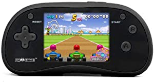 IM-Game Handheld Game Player, 220 Games with 3 inch Color Display, Retro Game Console, Portable Game Console, Electronic Games, Black