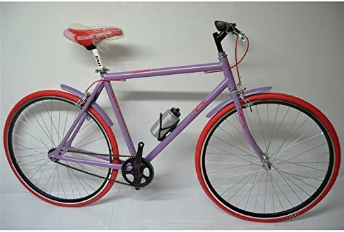 FIXED BICICLETA PIÑÓN FIJO SINGLE SPEED MORADO UNISEX LILA, COLOR ...