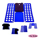 Clothes Tshirts Folder for Kid, Super Fast Laundry Folder Organizer, Top Flip Folding