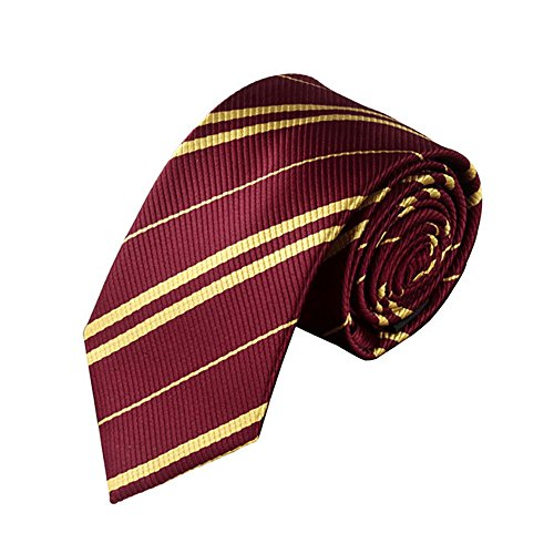 Dress Shirt Tie Formal Style Adult & Kids Halloween Costume Accessory USA (Burgundy) - Harry Styles Halloween Costume