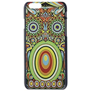 Fashion Personality Vintage Pattern Aztec Animal Colorful Owl Hard Back Plastic Case Cover Skin Protector For iphone 6 6G (4.7 Inches) by Alexism