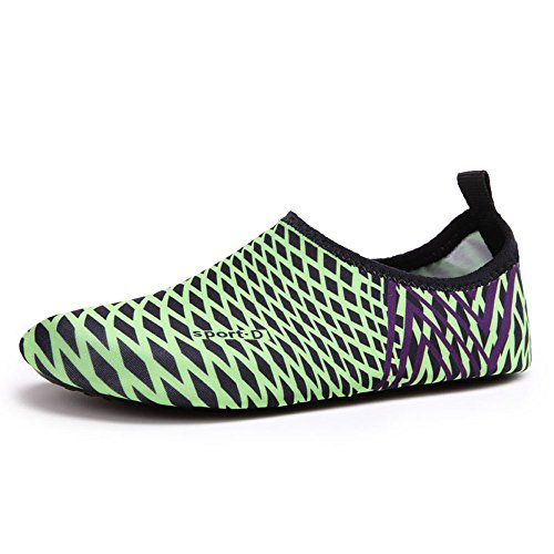 GTKC Zapatos de Agua de Secado R¨¢Pido de Los Deportes de Zapatos de Aqua,Nadar Caminar Yoga Unisex Zapatos Descalzos Color 30