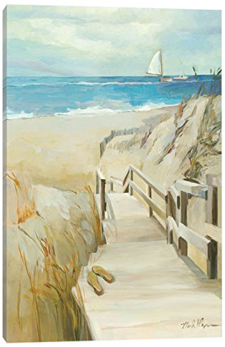iCanvasART Coastal Escape Canvas Print 26 x 18