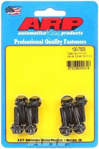 ARP Aluminum Valve Cover 14 Piece 12 Point BOLT Kit STAINLESS ARP 400-7504 USA