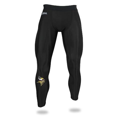 2afcd8f7e431f Amazon.com : Zubaz NFL Minnesota Vikings Male NFL Solid Leggings ...