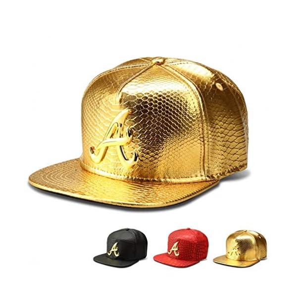 MADY 18K Gold Plated VIP/A/Dollar Grain Baseball Cap Men Women Adjustable Strapback 1