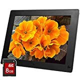 Micca 15-Inch 1024x768 High Resolution Digital Photo Frame With Instant-On Motion Sensor Technology - 8GB Storage Media - Auto On Off Timer - MP3 and Video Player (Black)