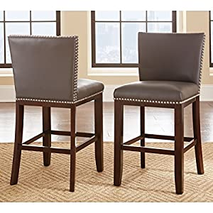 greyson living tisbury counter height stool set of 2 grey