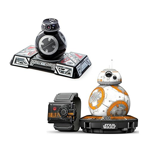 BB-8 Special Edition with Force Band and BB-9E App-Enabled Droid with (Star Wars Force Trainer)