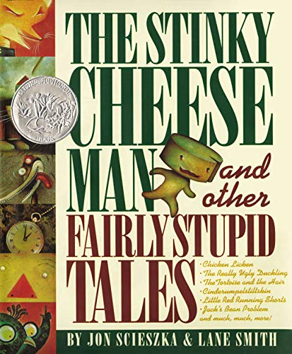 Book : The Stinky Cheese Man And Other Fairly Stupid Tale...
