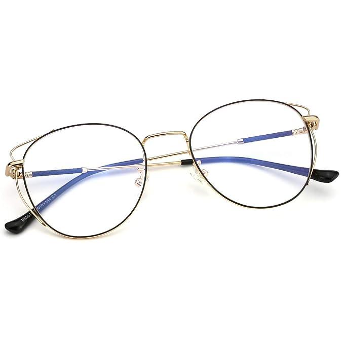 Amazon.com: Mimoeye - Marco de metal para gafas de bloqueo ...