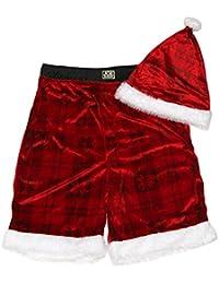Men's Christmas Santa Jam Hat Set