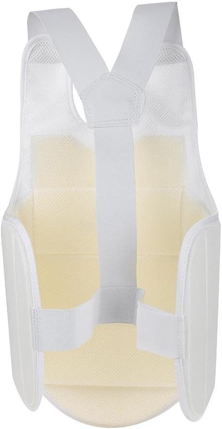 Unisex Taekwondo Karate Brustschutz Weste Boxen Brustschutz Zubeh/ör Erwachsenes Kind VGEBY1 Brustschutz