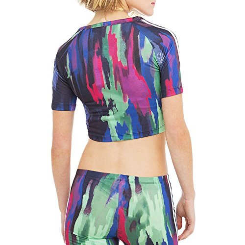adidas - Camisa deportiva - Manga corta - para mujer