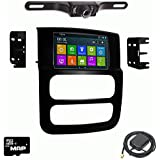 Otto Navi DVD GPS Navigation Multimedia Radio and Dash Kit for Dodge Ram Trucks 2002-2009 with Back up camera and extra