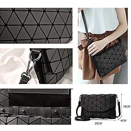 Red Travel Shoulder YUHEQI Women Bag Bag Bag Handbag Messenger Shoulder Bag Geometric Messenger Elegant Casual Handbag Modern Bag Shoulder Evening Black Bags Small Evening Bag Forearm Bag FFr5nEx1O