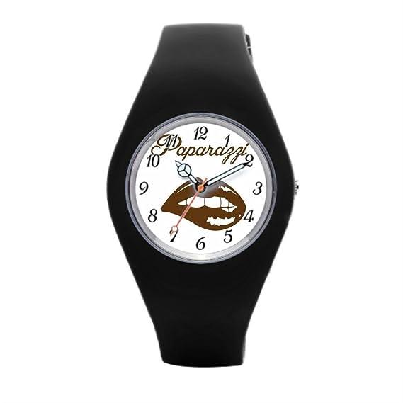 Barato Reloj de pulsera para mujer obediente ángel silicona reloj de pulsera: Amazon.es: Relojes