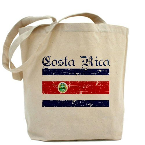 Costa Rica Flag Tote bag Tote bag by Cafepress by Cafepress