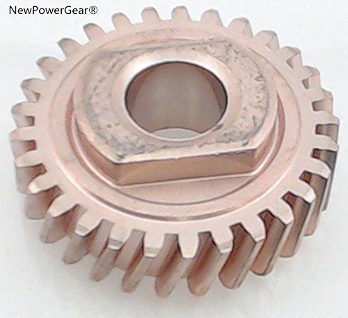 NewPowerGear Stand Mixer Worm Follower Gear Replacement For AP3594375, 1094120, 9703543, AH774065, EA774065, PS774065, 9706529, AP6013715, PS11746942