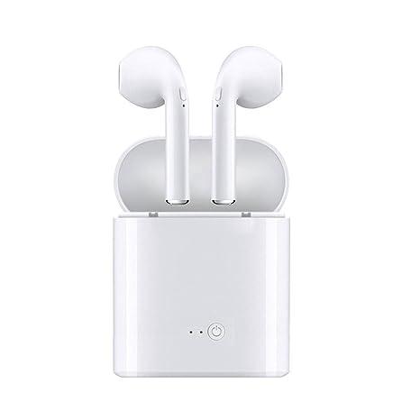 Auriculares Inalambricos, Y-ouni Manos Libres Auriculares Bluetooth para iPhone X 8 7P LUS