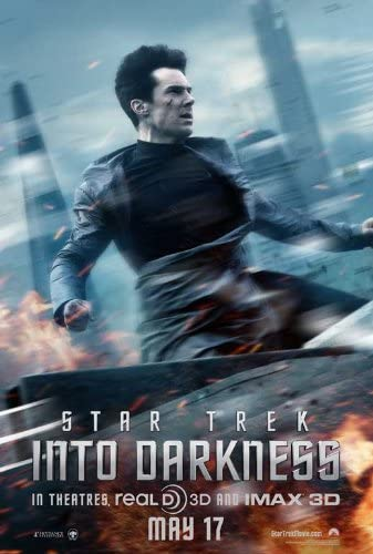 Amazon Com Star Trek Into Darkness 2013 11 X 17 Movie Poster Style E Lithographic Prints Posters Prints