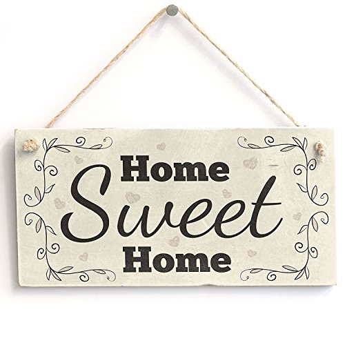 Meijiafei Home Sweet Home - Cute PVC Sign/Plaque 10