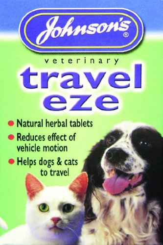 Travel-Eze Dog Travel Sickness Tablets - Johnson's (TP)(JTST) (Best Travel Sickness Tablets For Dogs)
