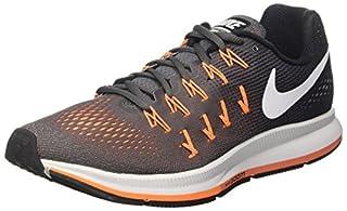photos officielles 31a25 294b7 Nike Men's Air Zoom Pegasus 33, Dark Grey/White/Black - 9.5 ...
