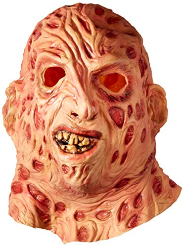 Freddy Krueger 3/4 Mask Costume Accessory ()