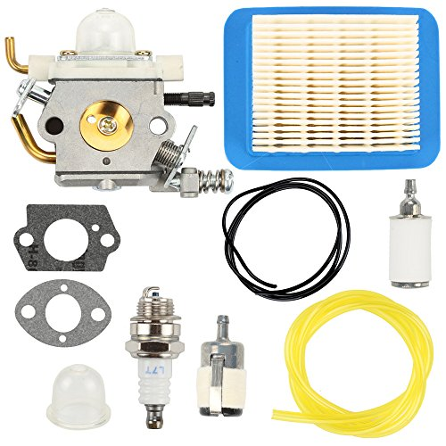 Harbot Carburetor Air Filter Spark Plug Fuel Line Tune Up Kit For ZAMA C1M-K77 ECHO PB403H PB403T PB413H PB413T PB460LN PB461LN Leaf Blower