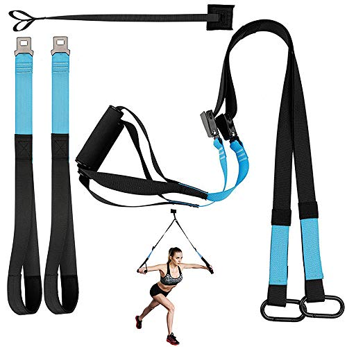 KEAFOLS Bodyweight Fitness Resistance Kit Extension Strap for Door Pull