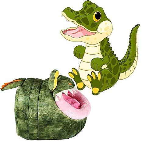 ltuotu Cute Cartoon Crocodile Pet Dog Cachorro Del Gato Peluche extraíble Wash House Mat Cama Cálido L: Amazon.es: Bebé