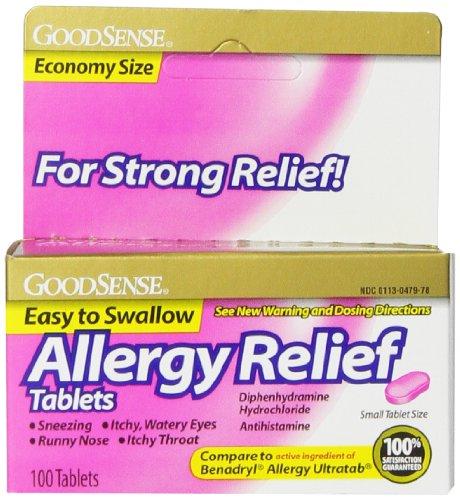 goodsense-allergy-relief-diphenhydramine-hcl-antihistamine-25-mg-100-count