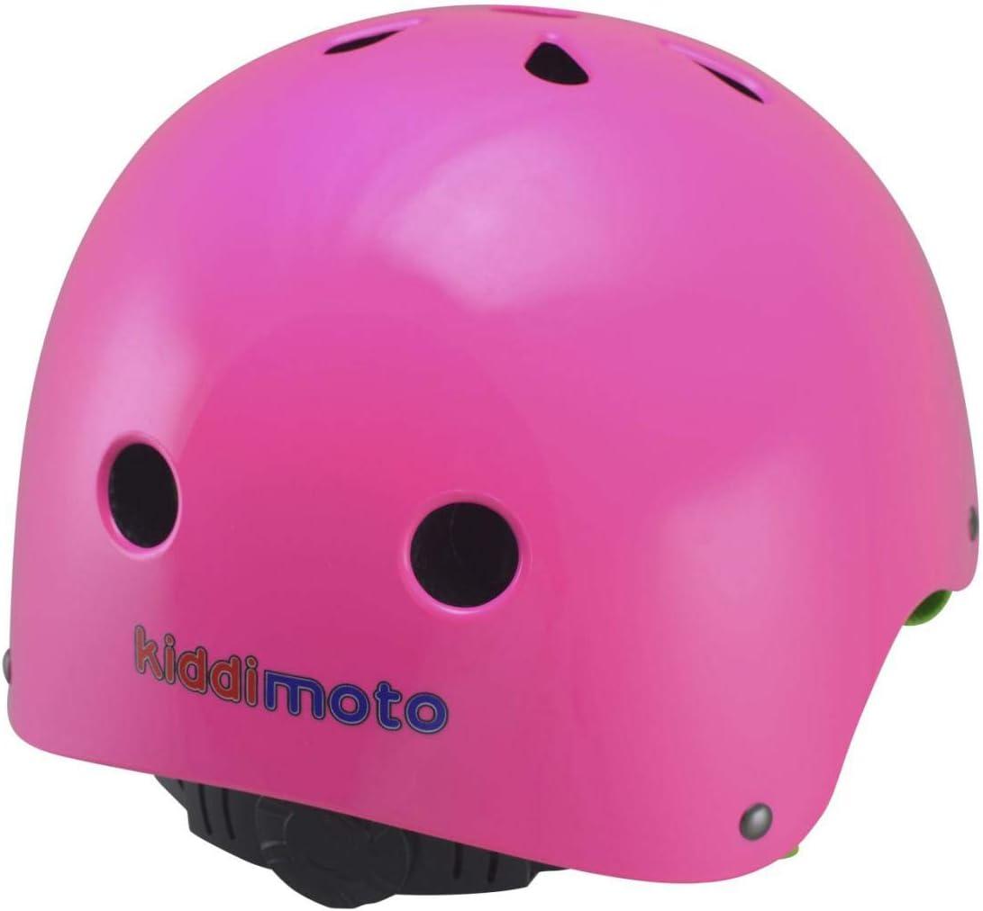 Casco para Boxeo Ciclismo y Otros Deportes KIDDIMOTO ni/ño, Parte Trasera Ajustable con Disco, Talla S de 48 a 52 cm Color Naranja