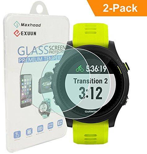 exuun-2-pack-garmin-forerunner-935-screen-protector-glass-03mm-ultra-thin-9h-hardness-25d-round-edge